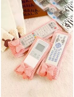 1Pc Air Conditioning Remote Control Case Cover Lace Greaseproof Cover