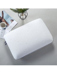 1 Piece Bed Pillow Solid Color Simple Comfortable Pillow
