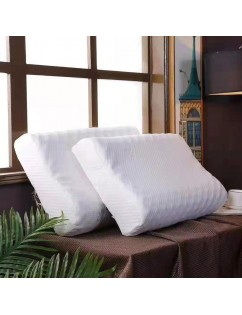 1 Piece Natural Latex Thailand Remedial Neck Sleep Pillow Vertebrae Health Care Orthopedic Bedding Cervical Pillow
