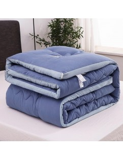 1 Piece Comforter Core Modern Simple Solid Color Thick Cozy Quilt