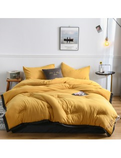1 Piece Comforter Fashion Simple Comfort Creative Comfort Soft Solid Color Quilt